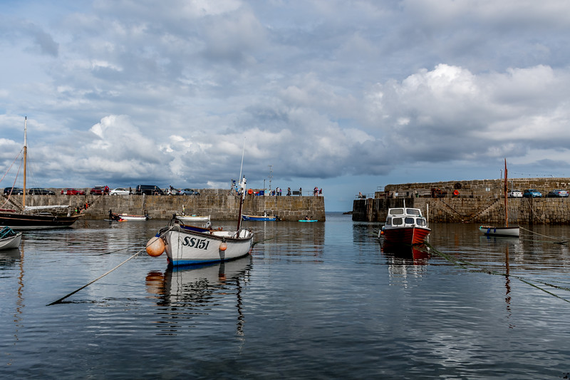 Boats at Mousehole