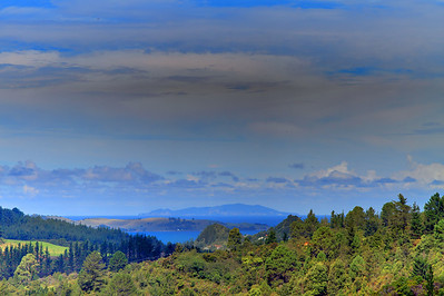 Coromandel Landscape - near Whitianga.  New Zealand