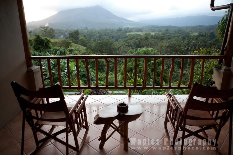 Balcony View, Lost Iguana Lodge