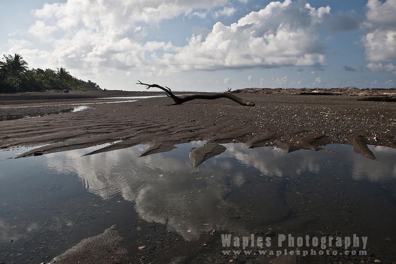 Beach near Estación Sirena, Corcovado National Park