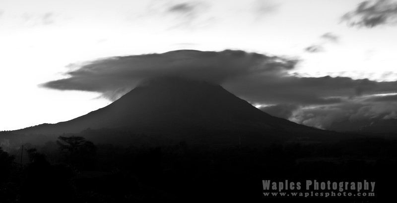 Sunrise, Volcan Arenal