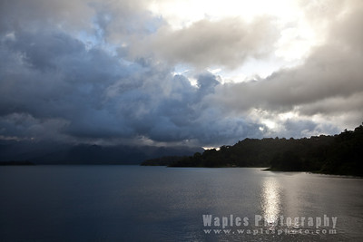 Clouds over Lake Arenal