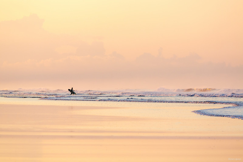 Early morning surf - Costa Rica