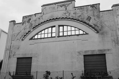 Golfe-Juan façade Art-Déco chemin de la Gabelle