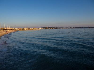 Golfe-Juan : la plage