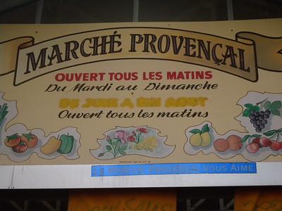 Antibes (Vieil Antibes) marché provençal
