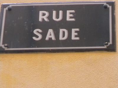 Antibes (Vieil Antibes) rue Sade