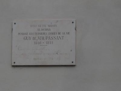 Cannes (maison de Maupassant)
