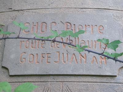 Golfe-Juan chemin de la Gabelle