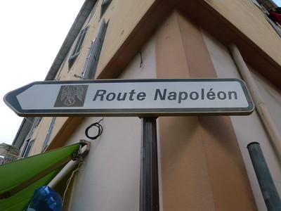 Golfe-Juan route Napoléon