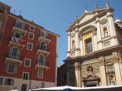 Nice (Vieux Nice) place Rossetti et Sainte Réparate