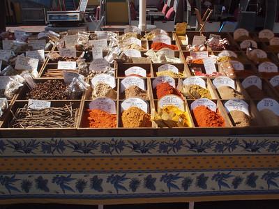Nice (Vieux Nice) les épices