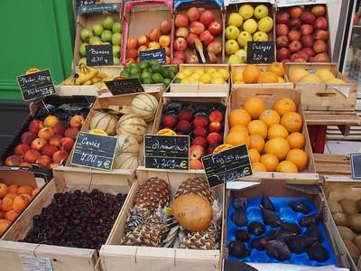 Nice (Vieux Nice) les fruits