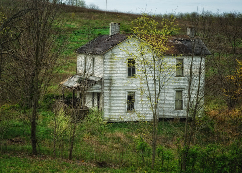 House in the Hollar. Located near The New River Gorge area of West Virginia.
