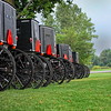 Amish Buggy Parking Lot