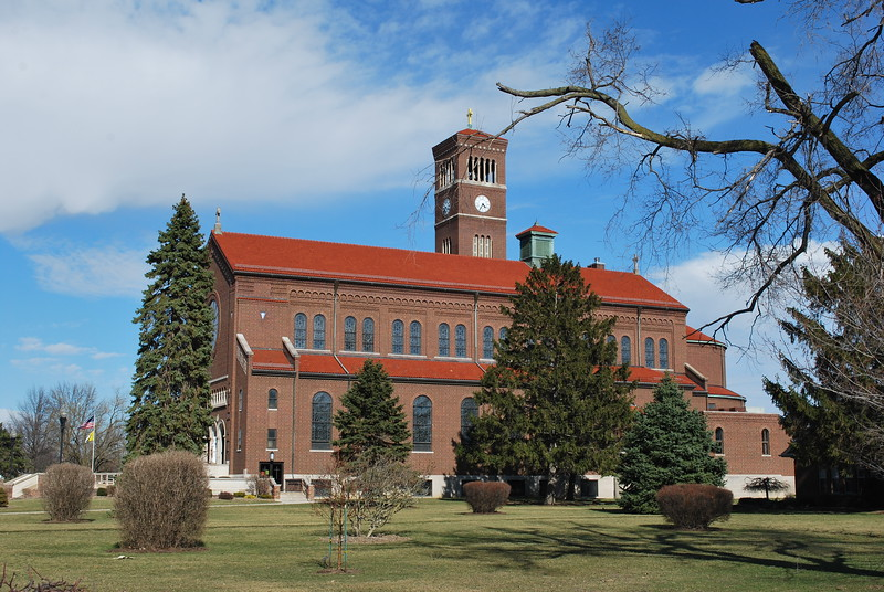 Old catholic church in Kalida, Ohio