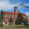 Old catholic church in Kalida, Ohio