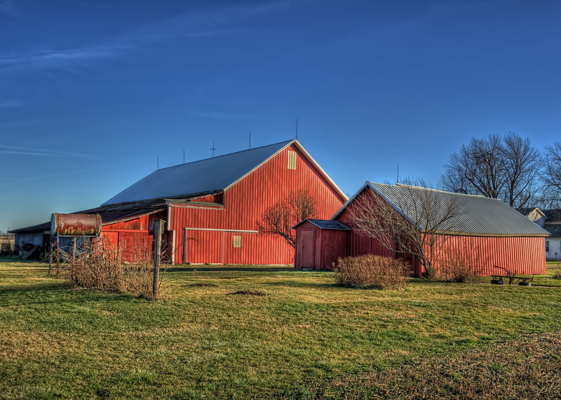 Rose's Red Barns