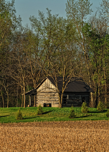 Log Cabin   circa 1824  Located in northwest Ohio