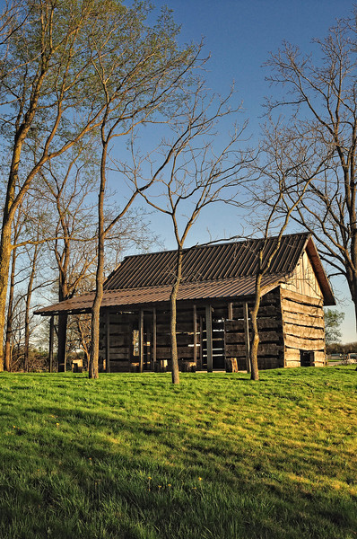 Pioneer Cabin in the Spring