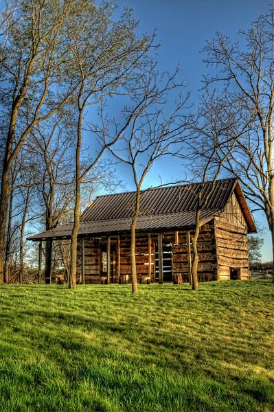 Springtime Cabin
