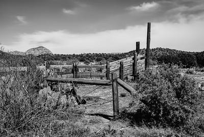 Country Scene - Cattle Chute - Photo Taken: April 19, 2008