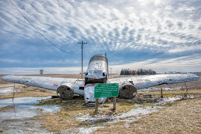 Country Scene - Agricultural Crash - Norway, Illinois - Photo Taken: February 14, 2019