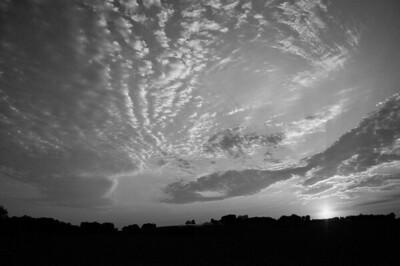 Scenic - Meier farm at sunset - 3