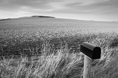 Scenic - old Koch/Dresen farm with mailbox and hill