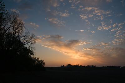 Scenic - Meier farm at sunset - 2