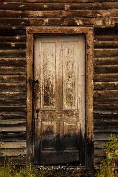 Bonanza Ghost town door