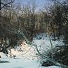 Snow path in Ohio
