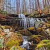 Largest waterfall in Rock Run Pennsylvania