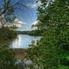 The dam at Van Buren State Park located in northwest Ohio.