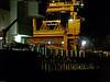 Aggregates wharf at night. Copyright Peter Drury 2009