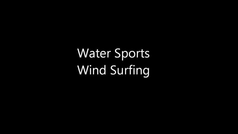 Short video of windsurfing off Hayling Island