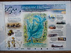Langstone Harbour Map. Photo Copyright 2009 Peter Drury<br /> This poster has been erected near the oysterbeds, North Hayling. It nicely depicts he harbour and its interesting locations and therefore is useful to include on my site.