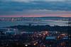 Portsmouth Harbour at Dusk. Copyright Peter Drury 2010