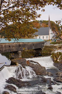Bath Covered Bridge, New Hampshire
