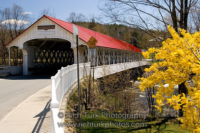Asheulot Covered Bridge, Winchester,New Hampshire
