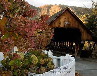 Middle Covered Bridge, Woodstock, Vermont