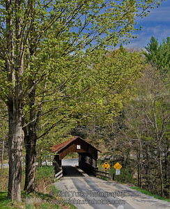 Dingleton Hill Covered Bridge, Cornish, New Hampshire