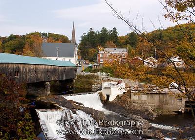 Bath Covered Bridge, New Hampshire