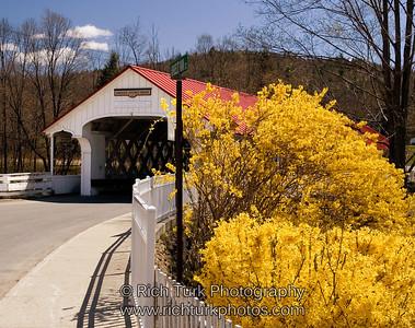 Asheulot Covered  Bridge, Winchester, New Hampshire