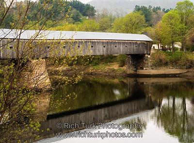 Cornish, New Hampshire to Windsor, Vermont Bridge across the Connecticut River