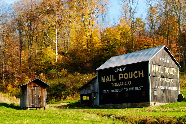 Covered Bridges and Old Barns