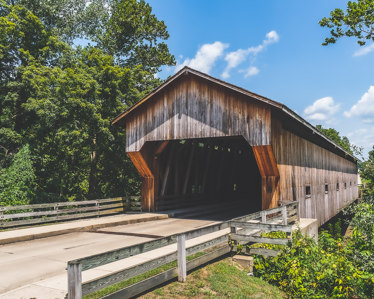 Jackson Covered Bridge in Cumberland County Illinois