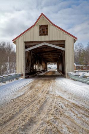Mechanicsville Road Covered Bridge 002