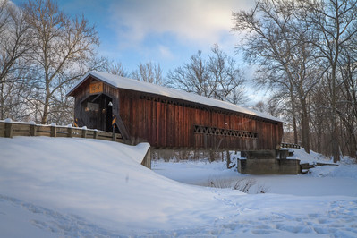 Benetka Road Covered Bridge 004