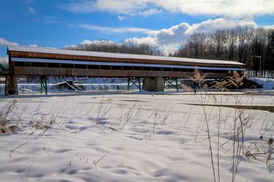 Harpersfield Covered Bridge 002